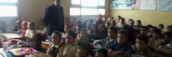 لجنة تفتيشية تكشف عجز المدرسين وسوء نظافة مدارس بلقاس بالدقهلية (خبر)