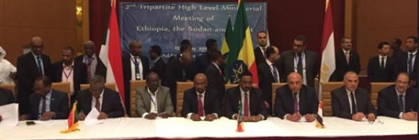 الخارجية الإثيوبية تنشر فيديو لحظة توقيع الاتفاق الثلاثي بشأن سد النهضة (خبر)