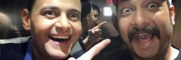 """رامز جلال  لـ"""" محمد ثروت"""": بطل العالم فى التسلخات والرهرطة"""