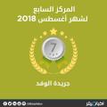 الوفد يشارك في البوابة نيوز وانفراد في المركز السابع عن شهر أغسطس