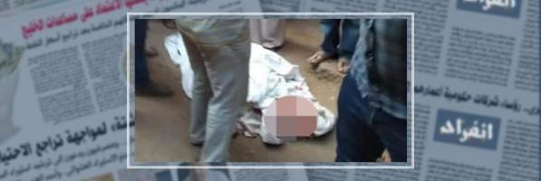 شهود عيان: عاطلان وراء قتل سائق توك توك ذبحا فى الحوامدية
