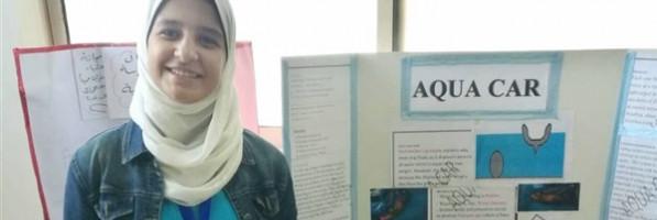 طالبة بالقليوبية تتوصل لاكتشاف يحمي السيارات من 'الغرق'
