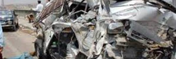 مصرع وإصابة ٥ أشخاص في حادث على طريق القنطرة شرق